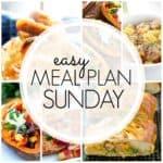 Easy Meal Plan Sunday {Week 79}