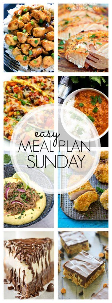 Easy Meal Plan Sunday {Week 80}