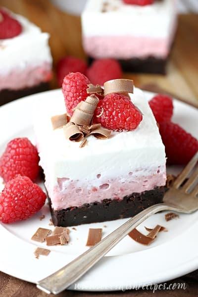 Chocolate Raspberry Dream Bars