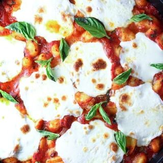 Mozzarella Basil Gnocchi