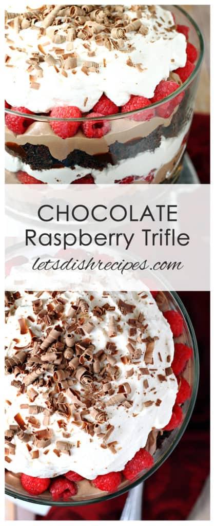 Chocolate Raspberry Trifle