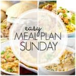 Easy Meal Plan Sunday {Week 87}