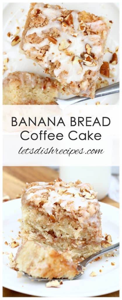 Banana Bread Coffee Cake
