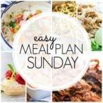 Easy Meal Plan Sunday {Week 89}