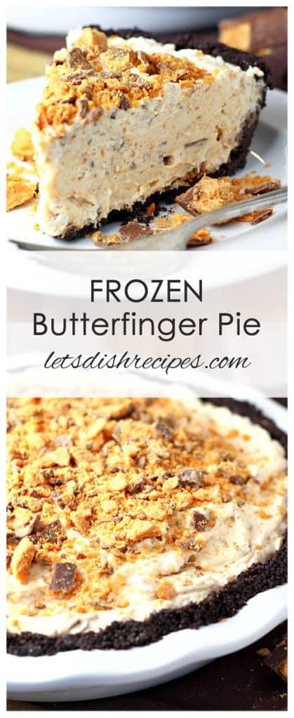 Frozen Butterfinger Pie