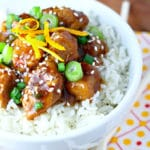 Easy Slow Cooker Orange Chicken