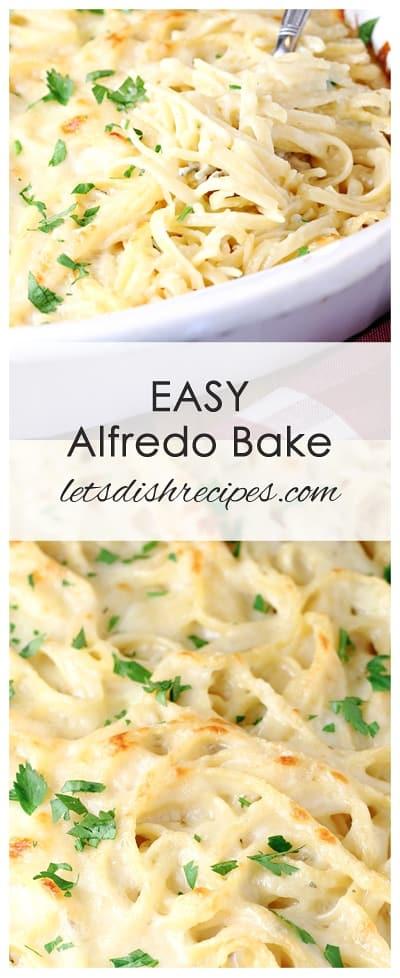 Easy Alfredo Bake
