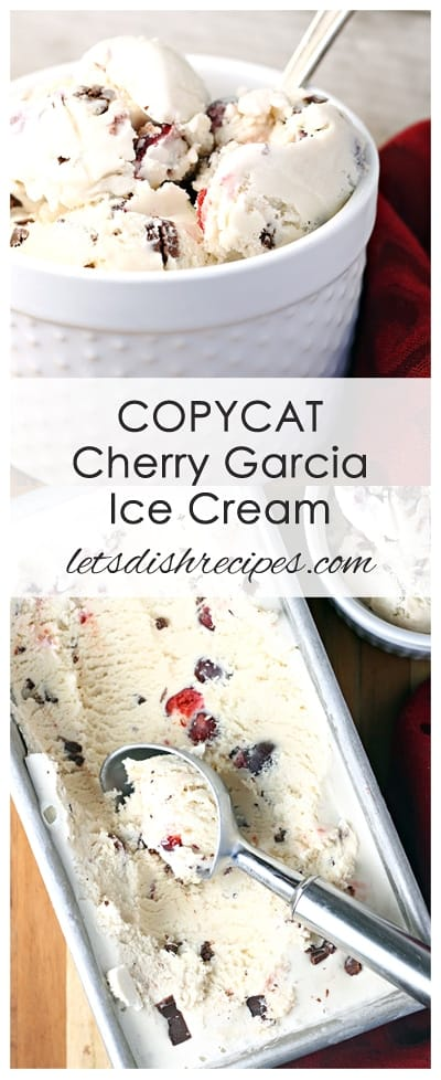 Copycat Cherry Garcia Ice Cream