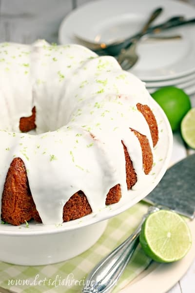 Key Lime Bundt Cake