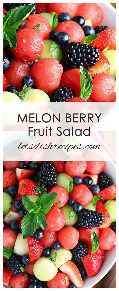 Melon Berry Fruit Salad