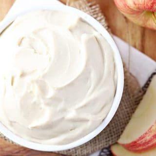 Three Ingredient Apple Dip