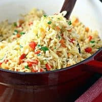 Baked Rice Pilaf