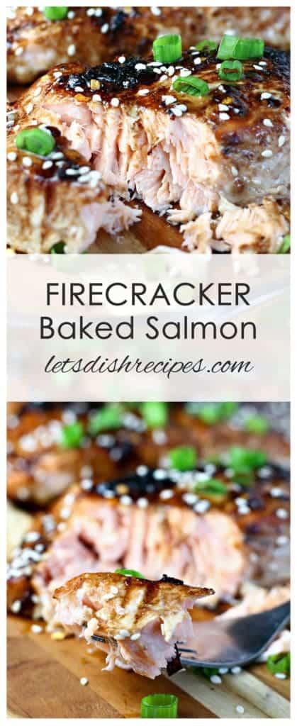 Firecracker Baked Salmon