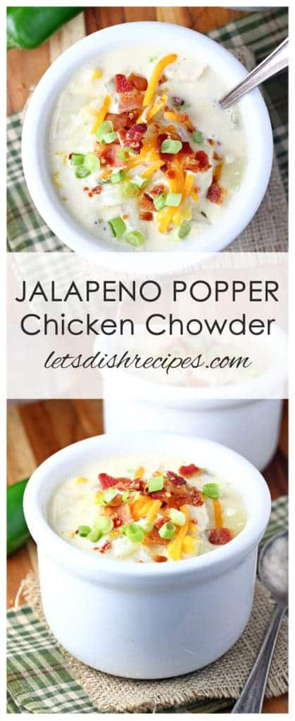 Jalapeno Popper Chicken Chowder