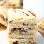 Snickerdoodle Cookie Bars