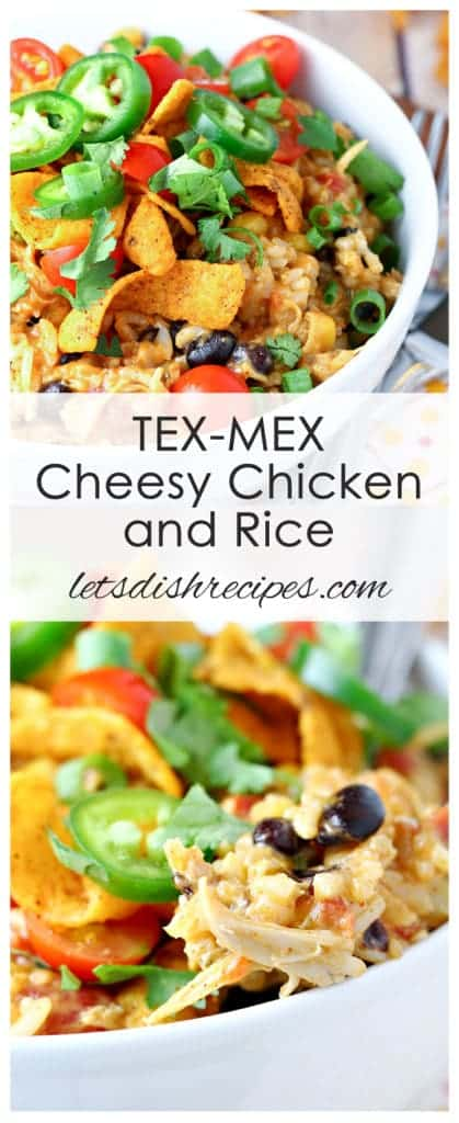 Slow Cooker Tex Mex Cheesy Chicken and Rice