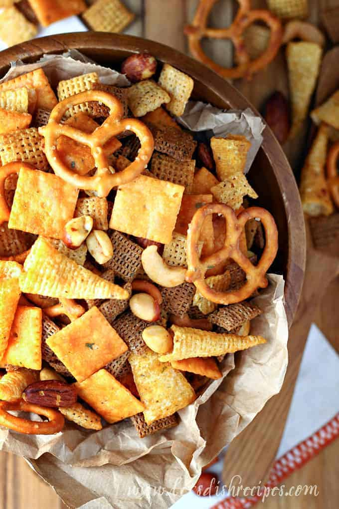 Buffalo Ranch Chex Party Mix