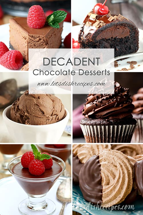 Decadent Chocolate Desserts