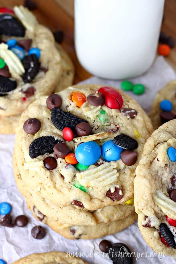 Snack Attack Chocolate Chip Cookies Let S Dish Recipes