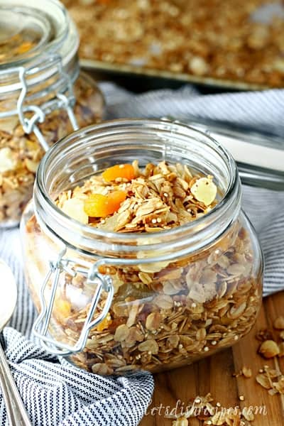 Slow Cooker Tropical Quinoa Granola