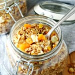 Slow Cooker Tropical Quinoa Granola