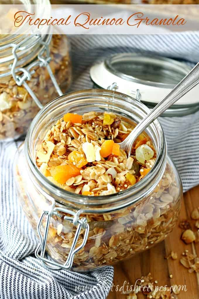 Tropical Quinoa Granola