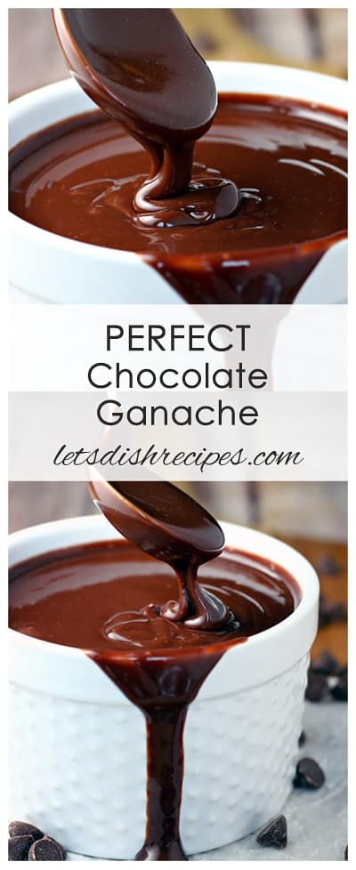 Perfect Chocolate Ganache