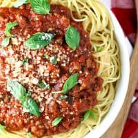 Best Slow Cooker Spaghetti Sauce