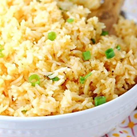 Simple Sriracha Rice