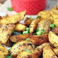 Cajun Roasted Potatoes with Creole Dipping Sauce