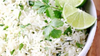 Best Cilantro Lime Rice