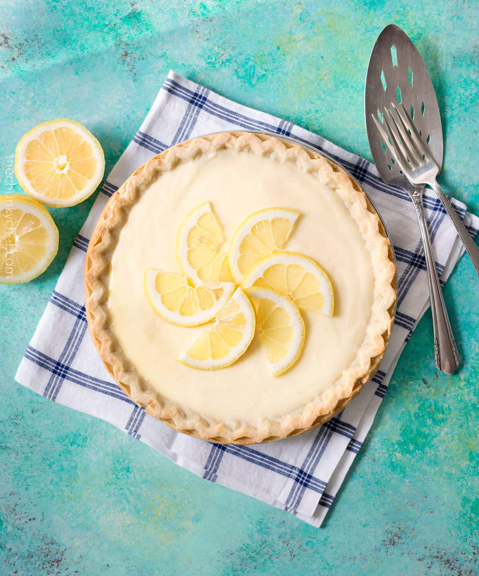 Creamy Sour Cream Lemon Pie