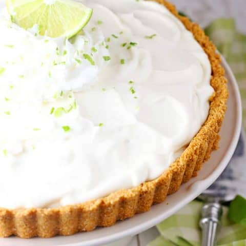 Easy Key Lime Cream Pie