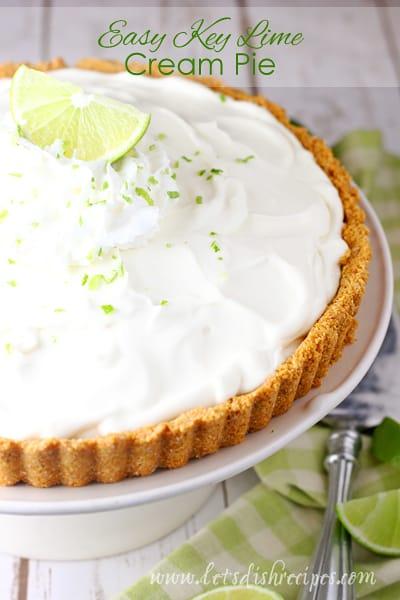 Easy Key Lime Cream Pie