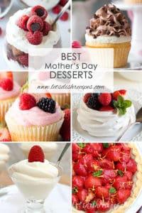 Best Mother's Day Desserts