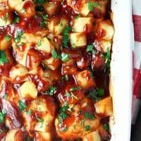 Easy Barbecue Pineapple Chicken