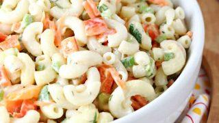 Garden Veggie Pasta Salad