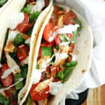 Ranch BLT Chicken Tacos