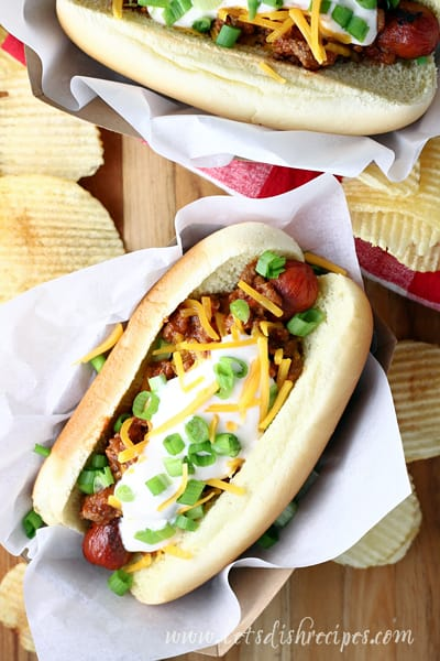 Chipotle Chili Dogs