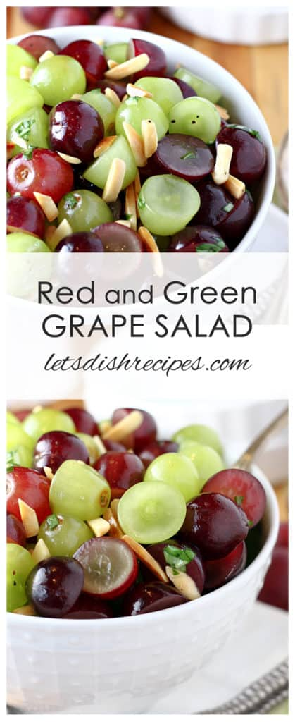 Red and Green Grape Salad