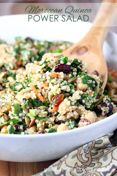 Moroccan Quinoa Power Salad