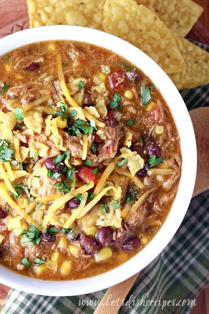 Slow Cooker Southwest Pork Stew Let S Dish Recipes