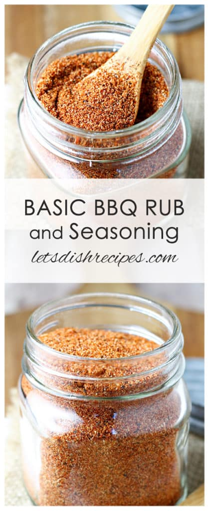 Basic Barbecue Rub and Seasoning