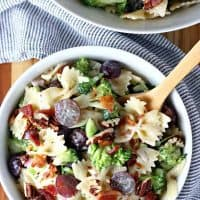Broccoli Bowtie Pasta Salad