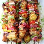 Grilled Sesame Chicken Kabobs
