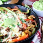 Beef Pineapple Fajitas