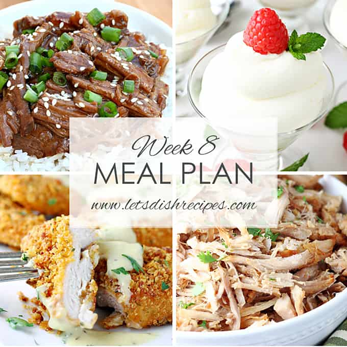 Easy Meal Plan 8