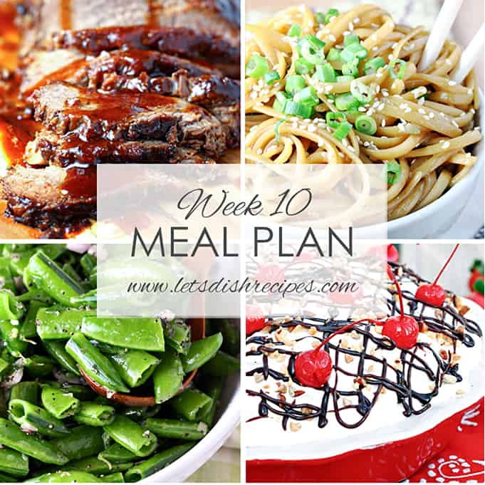 Easy Meal Plan 10