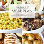 Easy Meal Plan 12