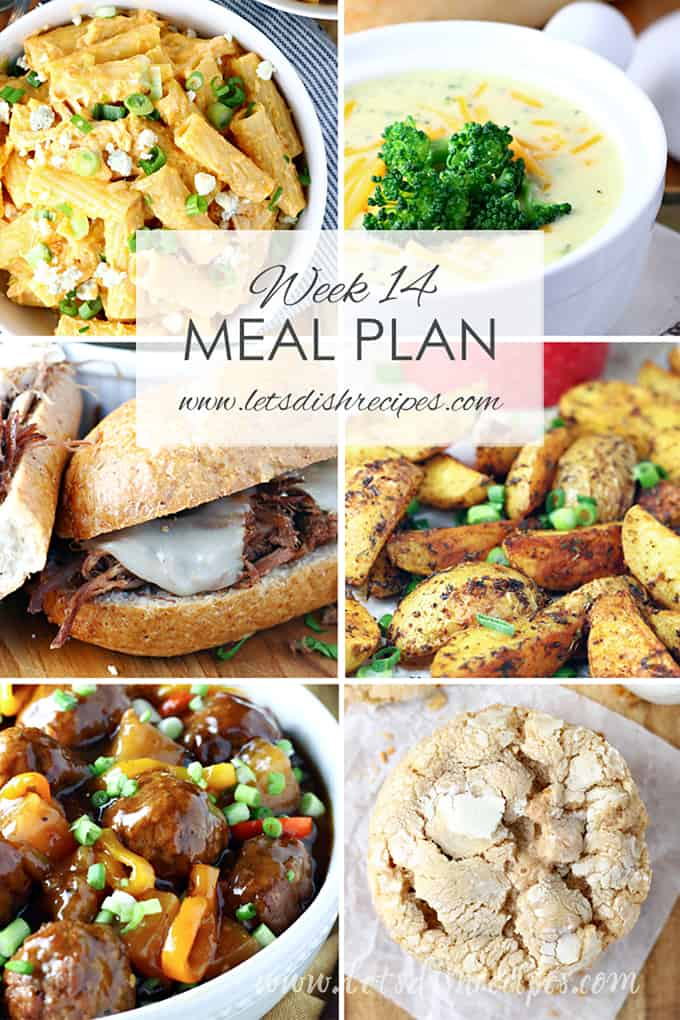 Easy Meal Plan 14